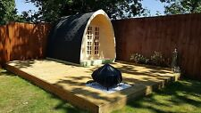 4.8m camping Pod Glamping Pod home Office
