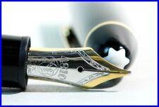 Meisterstück  MONTBLANC LeGrand 146 fountain pen piston filler M 18K bicolor nib