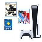 Sony Playstation (PS5) Disc/Blu-Ray Edition Console - White - Brand New *BUNDLE*