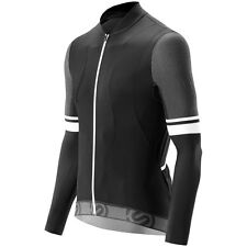 Skins Cycle Mens Tremola Jersey Long-sleeve Black/White Large
