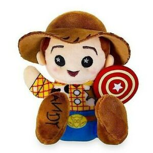"Disney Parks ~ Toy Story Mania - Woody - Wishables Plush - 4"" H"