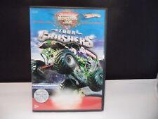 Hot Wheels Monster Jam Tour Crushers (DVD, 2006) El Toro Loco, Blue Thunder