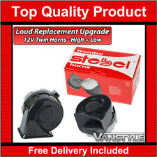 FORD TRANSIT 12V LOUD REPLACEMENT UPGRADE UPGRADED TWIN HORN POWERFUL HORNS