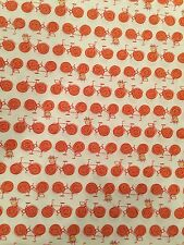 Erin McMorris Go By Bike Free Spirit Westminster Cotton Fabric By The 1/2 Yard