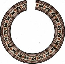 ACOUSTIC, CLASSICAL, GUITAR ROSETTE / INLAY, SOUND HOLE 205