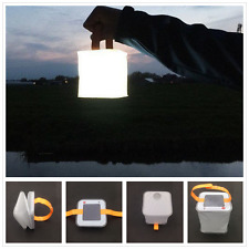 Portable Fold Inflatable Solar Light Outdoor Festival Garden Camping LED Lantern