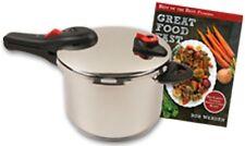 Nuwave 6LT Stainless Steel Pressure Cooker with Bonus Cookbook