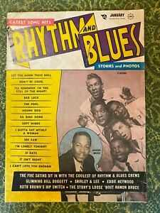 RHYTHM & BLUES  Elvis, Bill Doggett, many  rare photos , great! Jan 1957