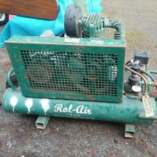 Rol-Air Systems-Air Compressor Model 5715K17, 1.5 Hp Motor, 115/230 Volts