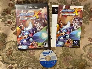 Mega Man X Collection (Nintendo GameCube) Complete Nice Shape & Near Mint Disc !