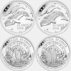 100th Anniversary of the First Canadian Arctic Expedition Complete Set 4 Coins.