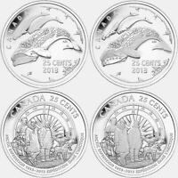 100th Anniversary of the First Canadian Arctic Expedition Complete 4 Coins.