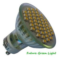 GU10 48 SMD LED 240V 3.5W 270LM DIMMABLE WARM WHITE BULB ~50W