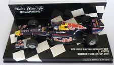F1 1/43 RED BULL RB7 RENAULT VETTEL TURKISH GP 2011 MINICHAMPS