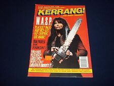 1992 MARCH 28 KERRANG! MAGAZINE - W.A.S.P. - MUSIC ISSUE - A 1811
