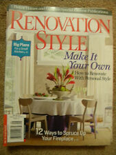 RENOVATION STYLE MAKE IT YOUR OWN HOW TO RENOVATE WITH PERSONAL STYLE WINTER2011