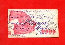 CHINE-PARIS-ENVELOPPE DESSINÉE-CORPS EXPÉDITIONNAIRE DE CHINE-10 DÉCEMBRE 1900