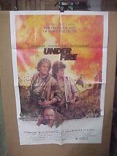 UNDER FIRE, orig 1-sht / movie poster (Nick Nolte, Gene Hackman, Johanna Cassidy