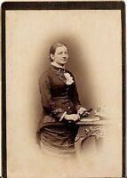 CAB photo Feine Dame - 1880er