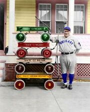 Hack Wilson #1 Photo 8X10 - 1930 Chicago Cubs COLORIZED