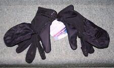 Glacier Ulra Light Angler Flip Mitt Black SZ L Silicone Palms Breathable Gloves