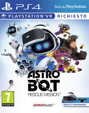 Astro Bot Rescue Mission (VR Required) PS4 Playstation 4 IT IMPORT