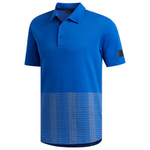 Adidas Golf Men's Adicross Novelty Print Polo, NEW