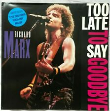 "Richard Marx - Too Late To Say Goodbye - EMI - 12MTP 80 - UK 1990 12"" Vinyl P/S"