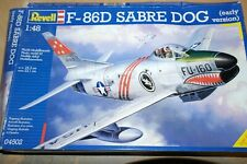 REVELL 1:48 F-86D SABRE DOG  (EARLY VERSION)     04502