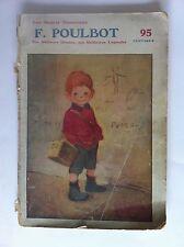 LES MAITRES HUMORISTES par FRANCISQUE  POULBOT 1908 PARIS couverture originale
