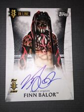 WWE Undisputed Authentic NXT Autograph Card Of Finn Balor.