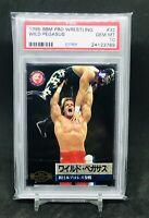 1995 BBM Pro Wrestling CHRIS BENOIT WILD PEGASUS Rookie Card PSA 10 gem mint