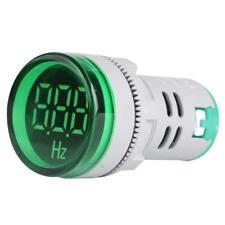 20-75Hz Circular LED Digital Display Signal AC Frequency Indicator Lamp C#P5