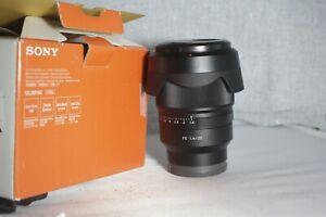 Sony SEL35F14Z ZEISS Distagon T FE 35mm F1.4 ZA Lens Full Frame E-MOUNT