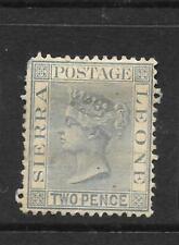 SIERRA LEONE  1884-91   2d    QV   MH  SG 30