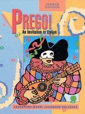 Prego! An Invitation To Italian (Student Edition) by Bellezza, Anna Maria, Jacob