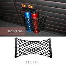 Rear Trunk Side Cargo Net Elastic Storage Mesh  For Fire Extinguisher Luggage