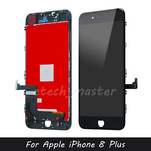"For iPhone 8 Plus 5.5"" Black LCD Replacement 3D Touch Screen Digitizer Assembly"
