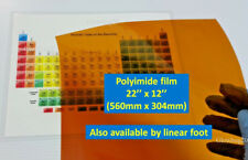 Heat resistant film Heat Resistant Sheet Polyimide Kapton Film -EXTRA WIDE-THICK