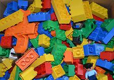 1 KG Lego Duplo Bausteine  Duplosteine Auto Tier Figuren Männchen