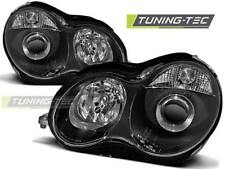 FARI ANTERIORI HEADLIGHTS MERCEDES W203 C-KLASA 07.00-03.04 BLACK