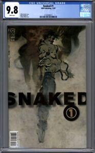 Snaked #1  IDW Comics  (2007)  Ashley Wood Cover   1st Print  CGC 9.8