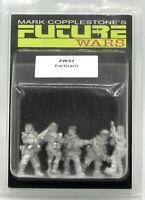 Copplestone FW37 Partisans (Future Wars) Resistance Militia Rebels Miniatures