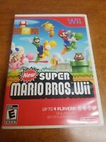 New Super Mario Bros (Wii, 2009)(Tested)