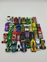 Car Diecast Hot Wheels Lot 32 Cars 90's & 2000's Collect Repair Parts
