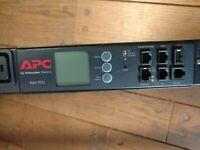 2x APC AP8941 PDU -30Amps/ 208Volt Rack Power Distribution Unit (21-C13 & 3-C19)
