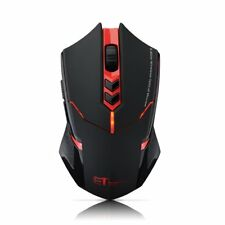 ET X-08 Professional 2000DPI Wireless Gaming Mouse USB Optical Mice  PC Laptop