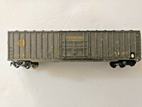 HO scale Santa Fe Express Rib sided wide door Boxcar