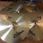 """Zildjian FREE UK&EU SHIPPING A Avedis Big Cymbal Set Pack 23 Sweet Ride FREE 18"""""""