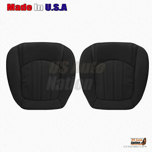 2008 - 2012 Buick Enclave Driver-Passenger Bottom Perforated Leather Cover Black